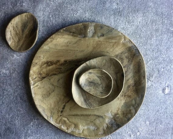 "Stone Wash 9.25"" Plate"
