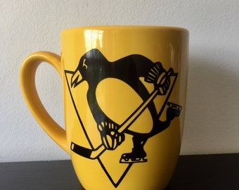 Pittsburgh Penguins Coffee Mug, Penguins Mug