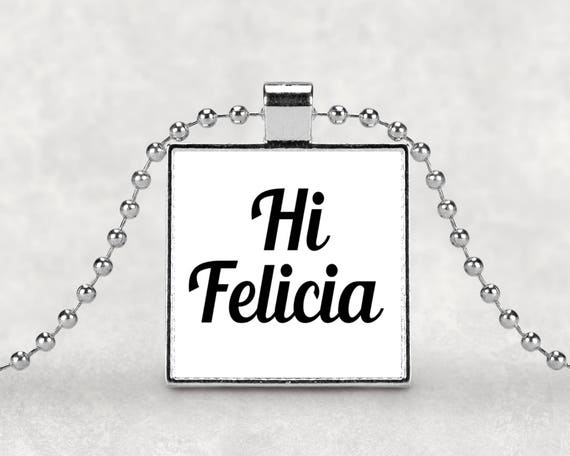 Hi Felicia pendant necklace
