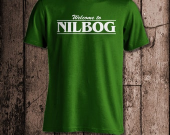 Welcome to Nilbog   Men's tee   Inspired by Troll 2