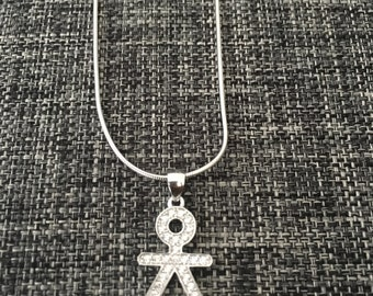 Girl necklace. Have her close. Best present for moms. Beautiful necklace! Push present for mothers to be of a baby girl.