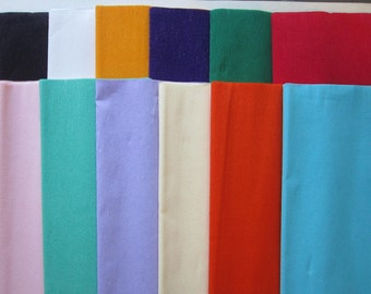 CREPE PAPER - your choice of color - 6 inches x 7 feet, crepe paper folds