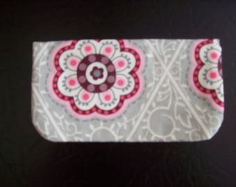 Pretty Floral Checkbook Cover