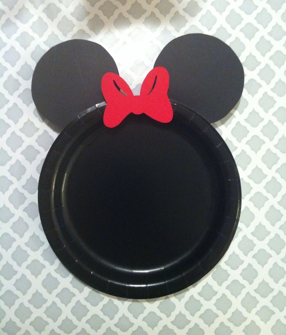 Items similar to SALE 12 Mickey Mouse Plates; Minnie Mouse Plate; Mickey Birthday Party; Minnie Mouse Birthday;Paper plates; Mickey Mouse Clubhouse; ... & Items similar to SALE 12 Mickey Mouse Plates; Minnie Mouse Plate ...