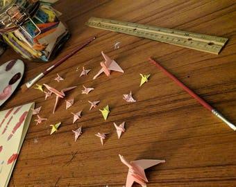 10 tiny cranes
