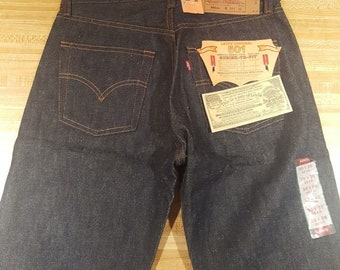 NWT Vintage Levi 501XX 1993 Mens Button Fly Jeans 30x36 90s