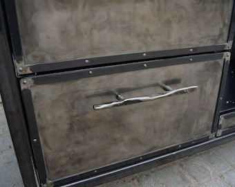 Furniture facades, Furniture steel facades, Steampunk furniture, Industrial furniture, Furniture handles, Kitchen handles