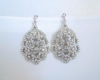 bridal earrings, bridal stud earrings, pearl bridal earrings, chandelier earrings, wedding pearl earrings, crystal bridal earrings, SUSANE