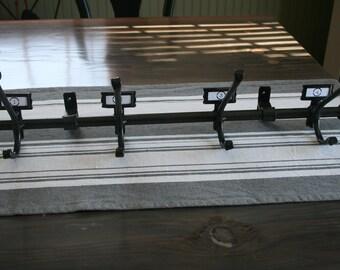 Coat hook/Hat rack/Industrial/Antique style/Reproduction/Mudroom/Entryway