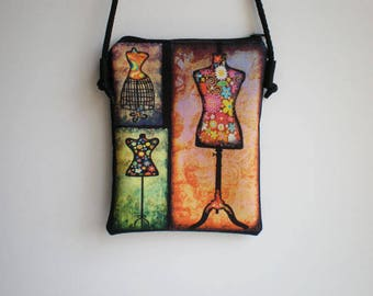 Shoulder bag, crossbody bag, printed bag, little bag