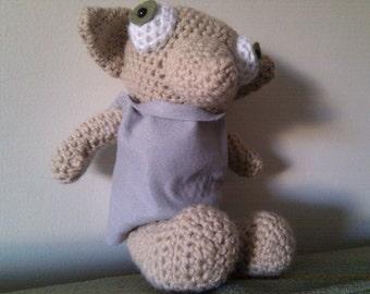 crochet dobby elf doll