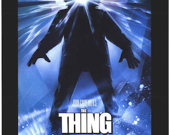 The Thing (1982) movie poster 11 x 17 John Carpenter science fiction horror Kurt Russell Keith David creature Wilford Brimley Antarctica