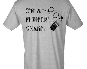 YOUTH I'm A Flippin' Champ Graphic T-Shirt