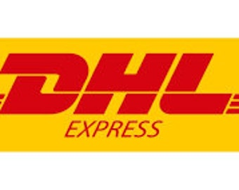 DHL express shipping. Upgrade shipping.