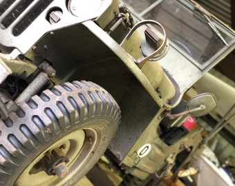 1942 Jeep Willys (used in WWII-France)