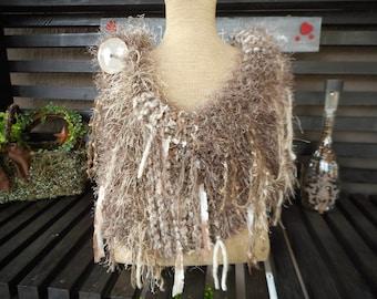 Hand Knit Cowl   Hand Knit bWrap