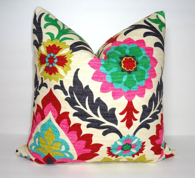 Waverly Santa Maria Desert Flower Pillow Cover Decorative