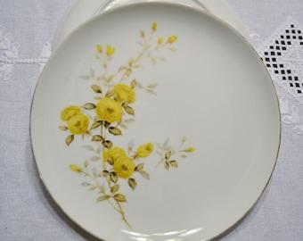 Vintage Sango Dinner Plate Set of 2 Yellow Roses Sango Fine China Japan Replacement PanchosPorch & Sango dinner plate   Etsy