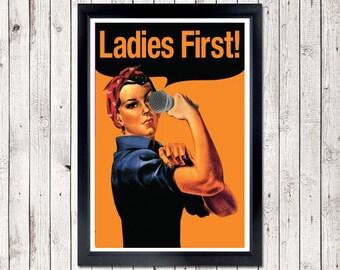 Ladies First Poster - MC,