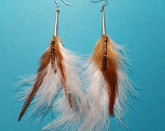 """Earrings """"BOHO Feather 3"""""""