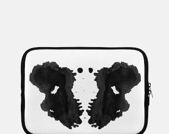 Thérapeute cadeaux iPad manche Rorschach tache d'encre au bureau décor