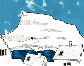 31 days in the Faroe Islands, day 13: Eggjaklettur, Nólsoy.