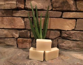 Aloe Tea Tree handmade soap FREE SHIPPING