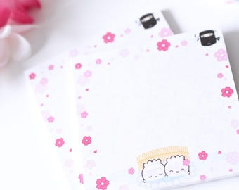 """Sticky Notes - Japan - 3""""x3"""" [Square Post-Its, Post-Its, Cute Notepad, Stationery Pad, Stickies, Kawaii Stationery, Japan Stationery] - P004"""