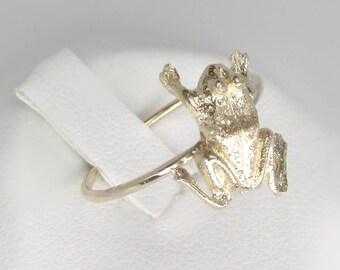 14k gold bug ring Etsy
