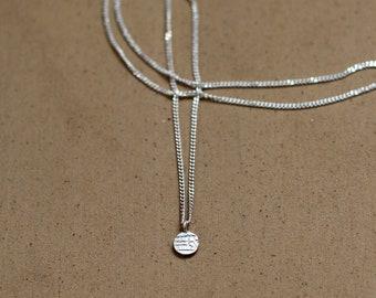 Signet dot necklace