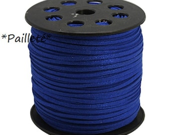 5 m suede 3mm suede cord bracelets / cord for necklace / cord bracelet / jewelry making