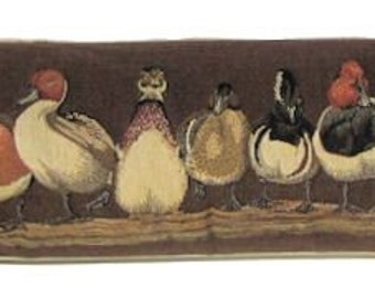ducks draft stopper duck row draught excluder draught stopper duck gift - BOL-495/BR