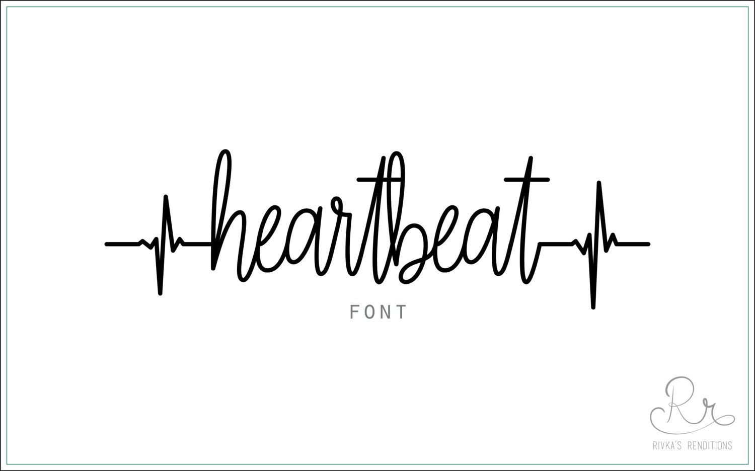 Heartbeat font download otf ttf open type fonts digital zoom stopboris Images