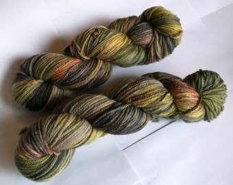 Roasted Veggies on Worsted SW Merino