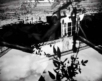Holga Photography, Toy Camera, Fine Art Photography, Black and White Photography, Abstract Photography, Modern Art, Wall Art, Reflections