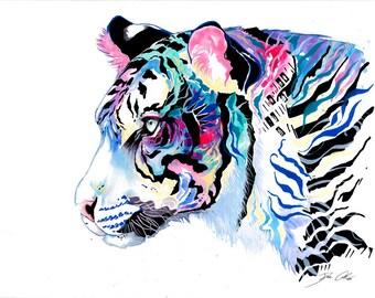 """Art Print """"Color Hunter"""""""