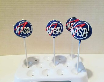 NASA cake pops. Order of 13!