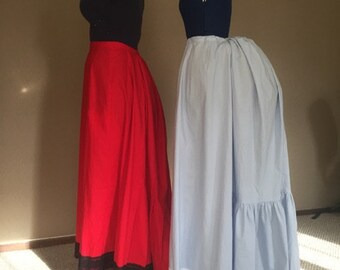Victorian Steampunk Bustle Petticoat