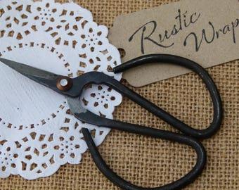 Small Bonsai, Craft, Garden Scissors, Vintage style 10.5cm