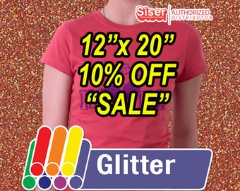 """12"""" x 20"""" / 1-sheet / Easyweed Glitter  / 10% OFF SALE - HTV"""