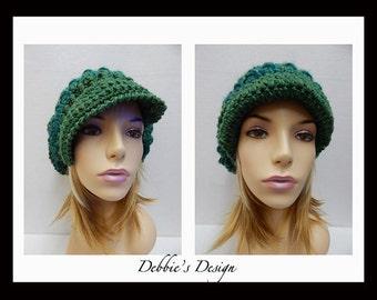 Women's Handmade Hat-348 Women's Handmade Crochet Slouch Hat, Women's Hair Accessories, Women's Handmade Hat, Women's Slouch Hat