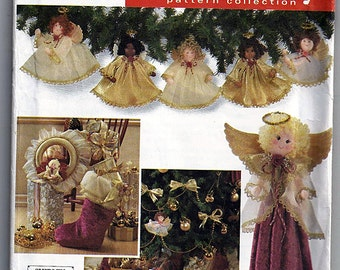Original Simplicity Holiday Pattern Colletion Uncut Sewing Pattern 7938
