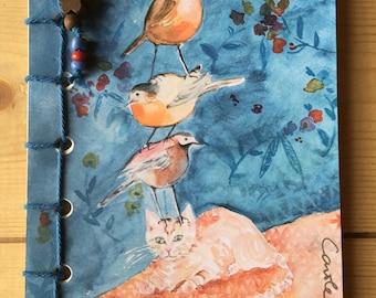 Book 3 birds 1 Cat 1 Butterfly