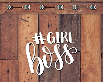 Girl Boss Decal | Yeti Decal | Yeti Sticker | Tumbler Decal | Car Decal | Vinyl Decal