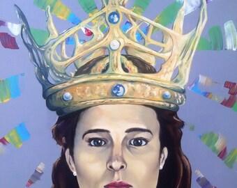 Woman King (11 x 14 print)