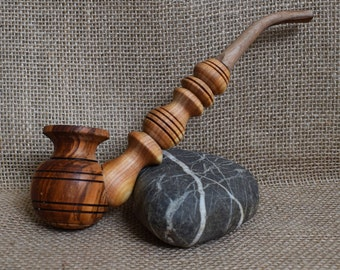 Souvenir smoking pipe Tobacco pipes Wood carving Smoking pipes Smoking pipe Wooden pipes Wood pipes Long smoking bowl