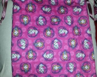 Handmade frozen material pyjama bag