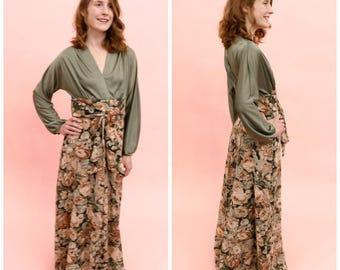 1970s Garden Dress