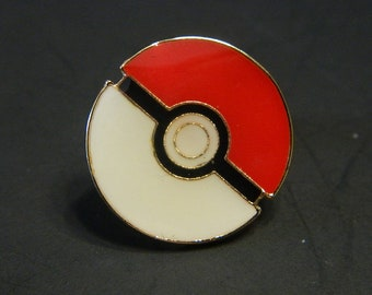 Pokemon Poke Ball Lapel Pin - Gamer Pokemon Poke Ball Costume Lapel Pins - Fun Flair & Pins