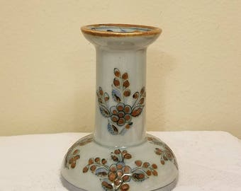 El Palomar Mexican Pottery Candle Holder by Ken Edwards